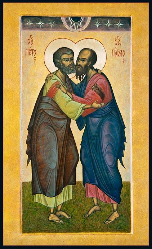 Свв. ап. Петро і Павло. Ікона.