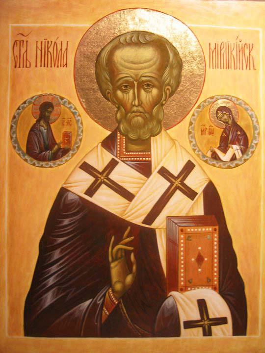 Святий Миколай Мірлікійський.