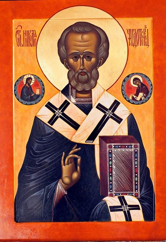 Святий Миколай Чудотворець. Ікона.