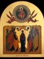 """""""Вознесіння Господнє"""" ікона."""