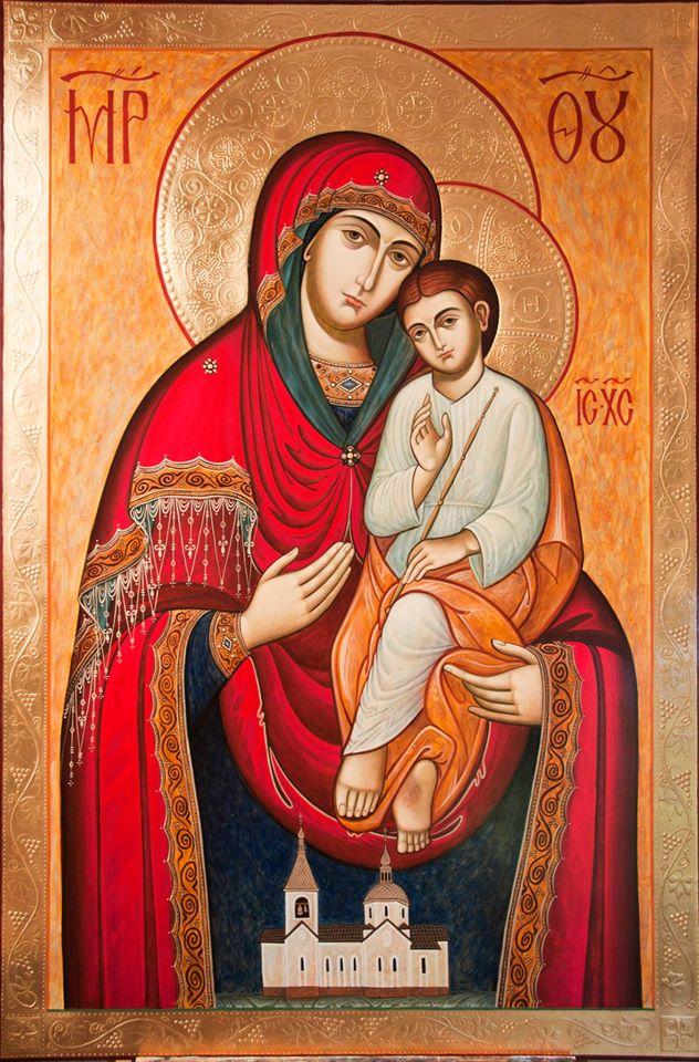 Икона Богоматерь Святогорская