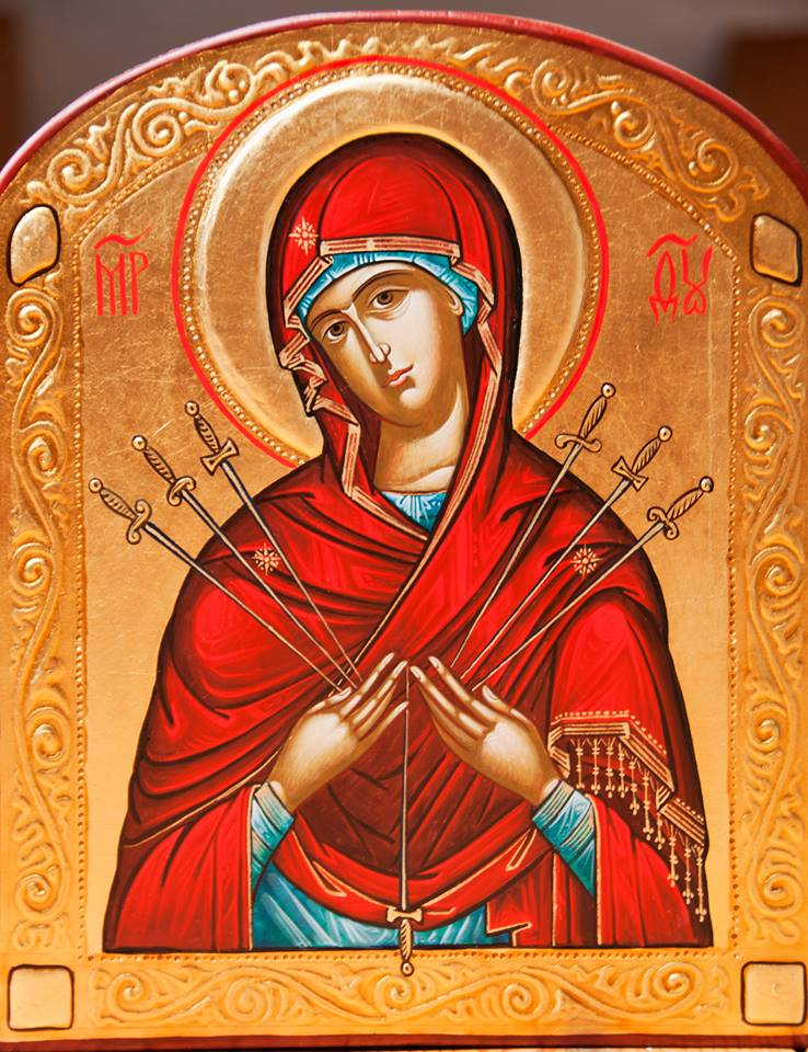 Семистрільна ікона Пресвятої Богородиці.