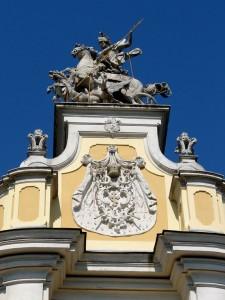Скульптура св.Юра