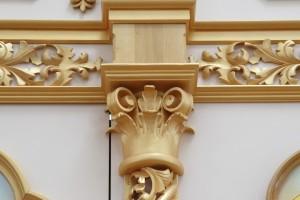 Верхня частина колони для іконостасу