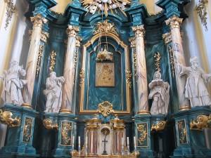 Вівтар Успенського костелу