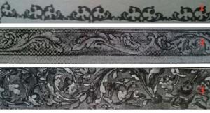 Орнамент різьби на Чашу