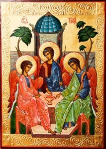 Святая Троица. Икона