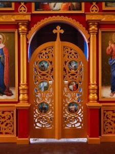 Царские Врата фрагмент
