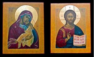 Вінчальна пара ікони