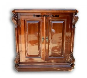 Домашний иконостас, тумба