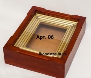 Рамка для иконы из бисера