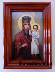 Икона Божией Матери Призри На Смирение